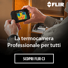 Scopri la Nuova termocamera FLIR C3