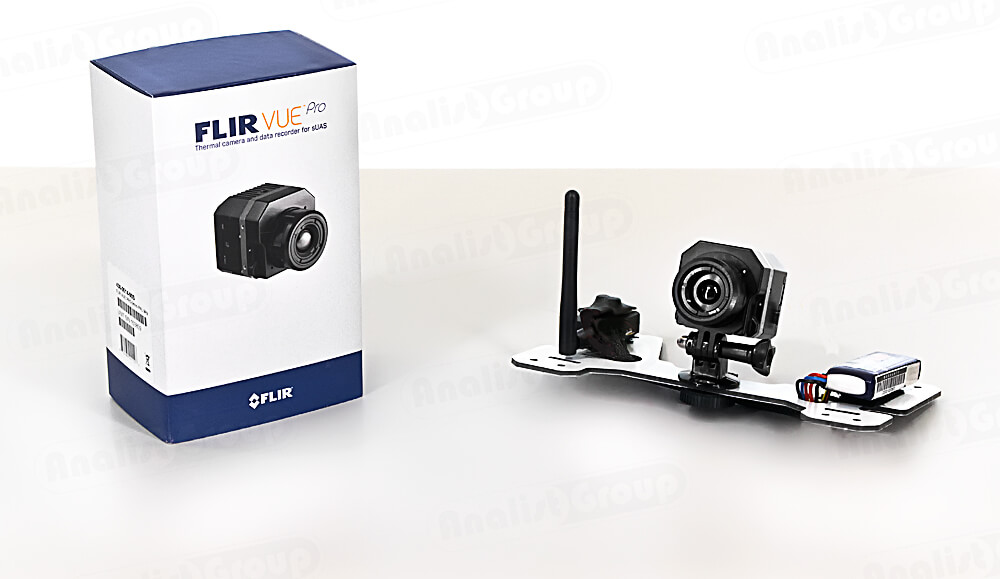 Bracket for DJI Phantom and FLIR VUE