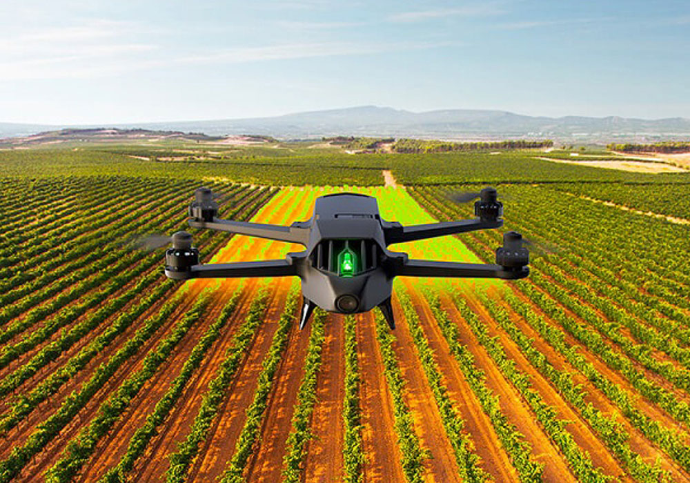 Drone per agricoltura Parrot Bluegrass ndvi