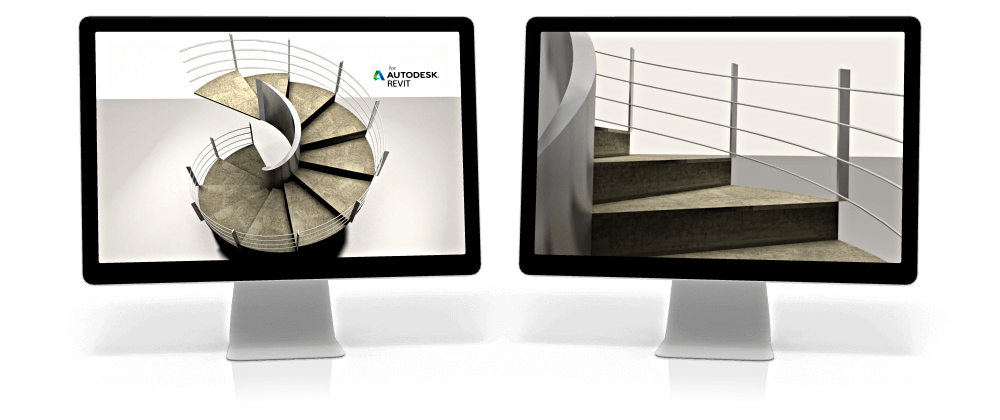 OneRay-ST Spiral Stairs for Revit® Support Page