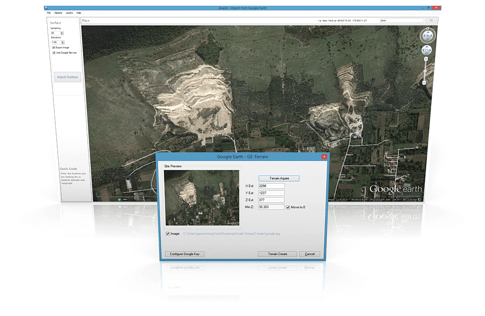 Google Earth Importer for Revit