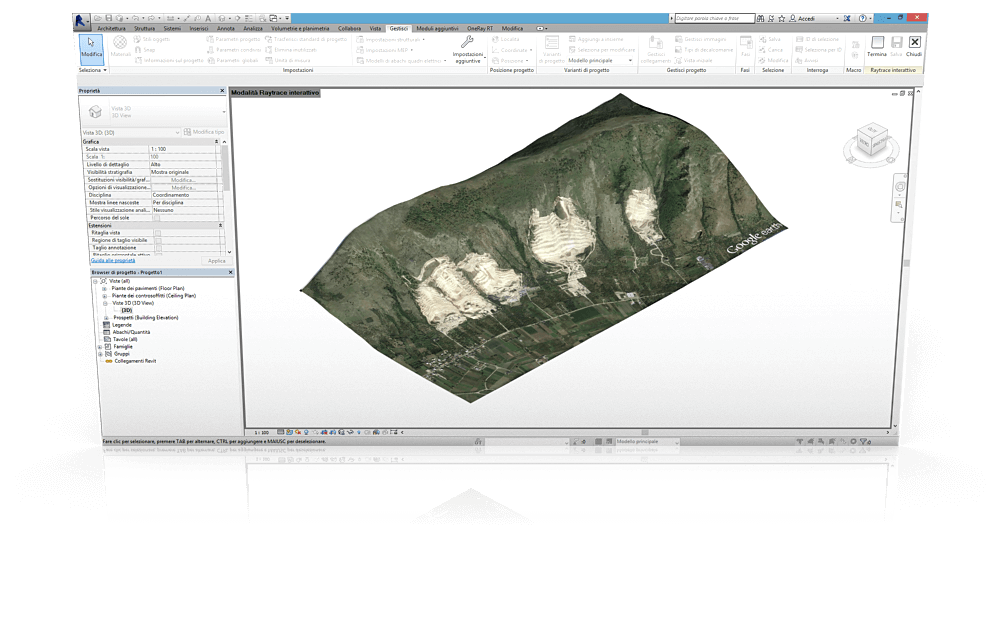 Ge Terrain Revit import dtm