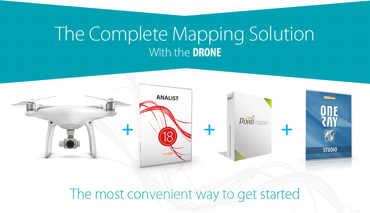 Complete Mapping Solution with the drone