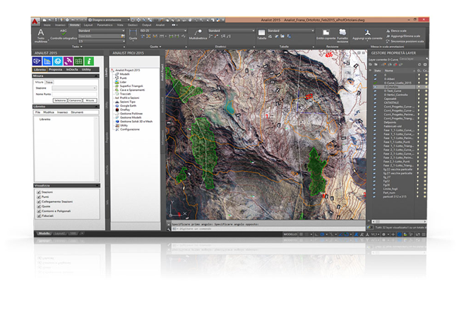Topographic Software