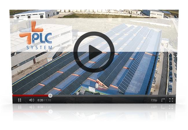 PLC SYSTEM ispezione pannelli fotovoltaici con DRONE