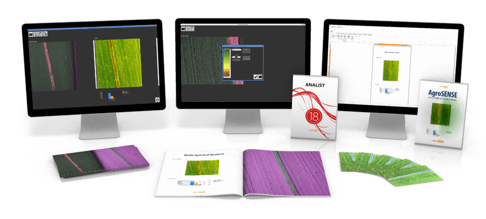Agrosense multispectral software