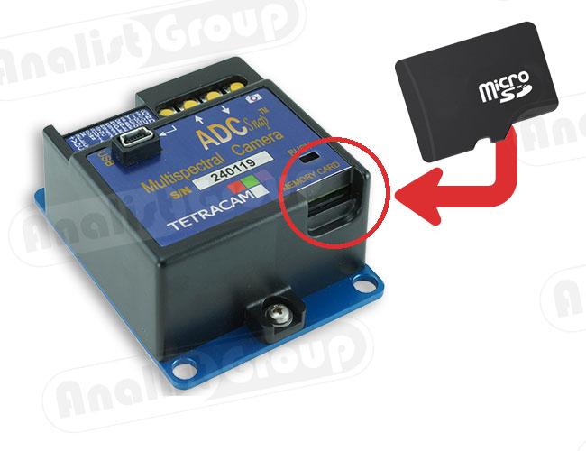 Multispectral microSD