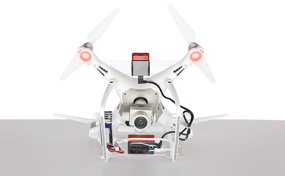 parrot sequoia dji phantom