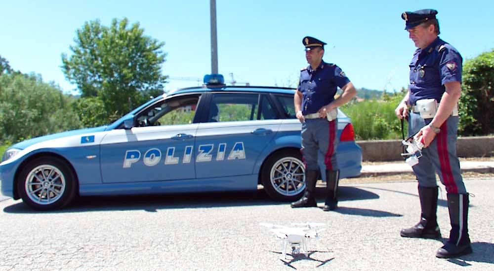 polizia drone analist group