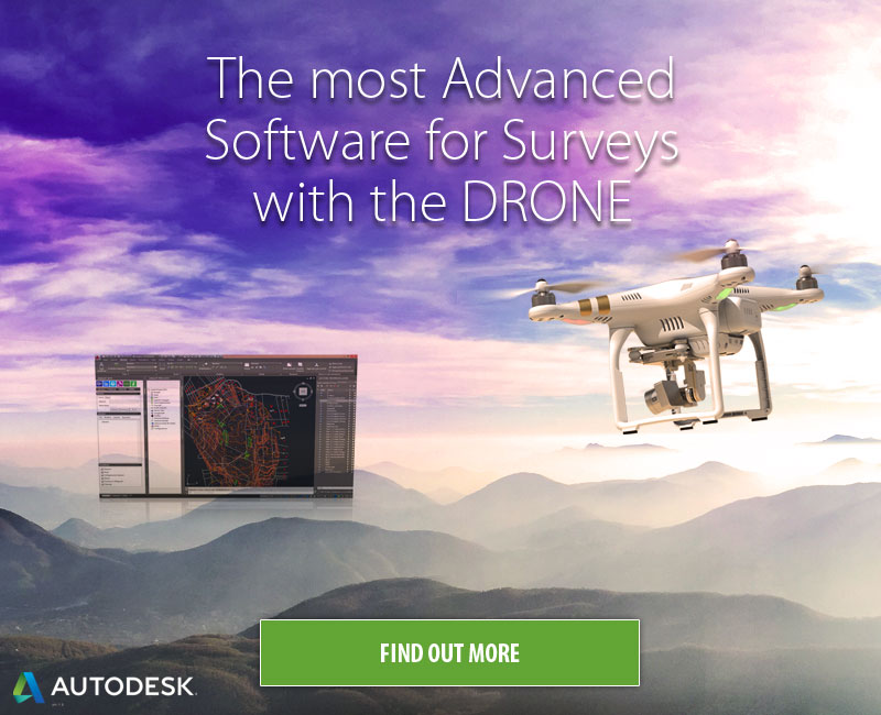 The most Advanced Software for Surveys with the Drone