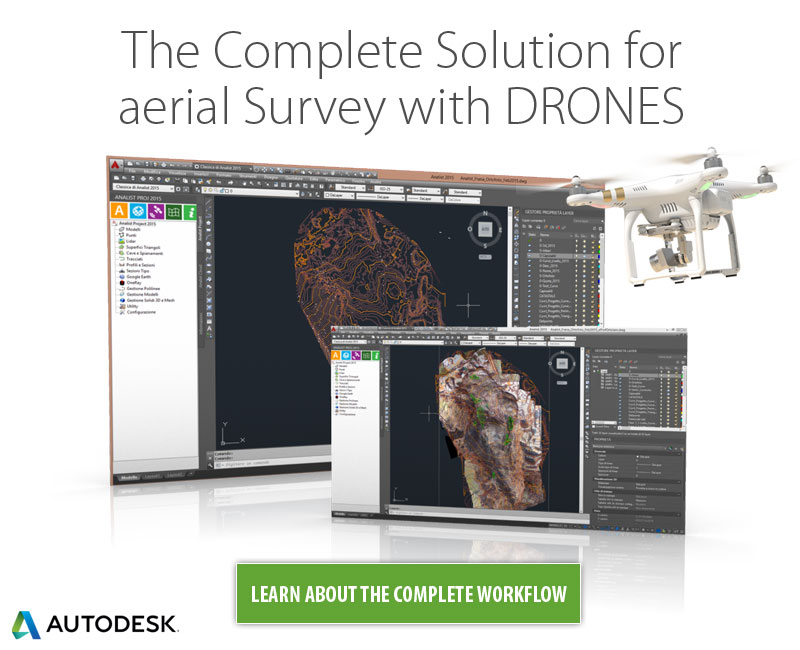 The Complete Solution for aerial Survey with DRONES